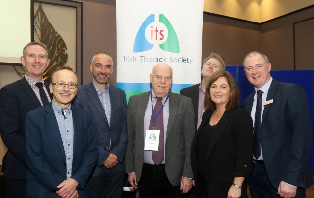 Photograph of the sponsors and panel of the Case Study Forum